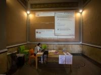 100Mila Poeti per il cambiamento 26 Settembre 2015 Sala d'aspetto stazione ferroviaria Mondovì Breo