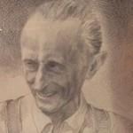 Barba Nadìn ritratto da A.Colombatto