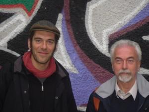 Christophe Chigot (a sinistra) con Attilio Ianniello