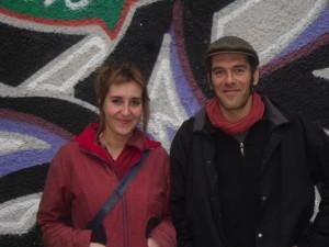 Francesca Cioccarelli e Christophe Chigot