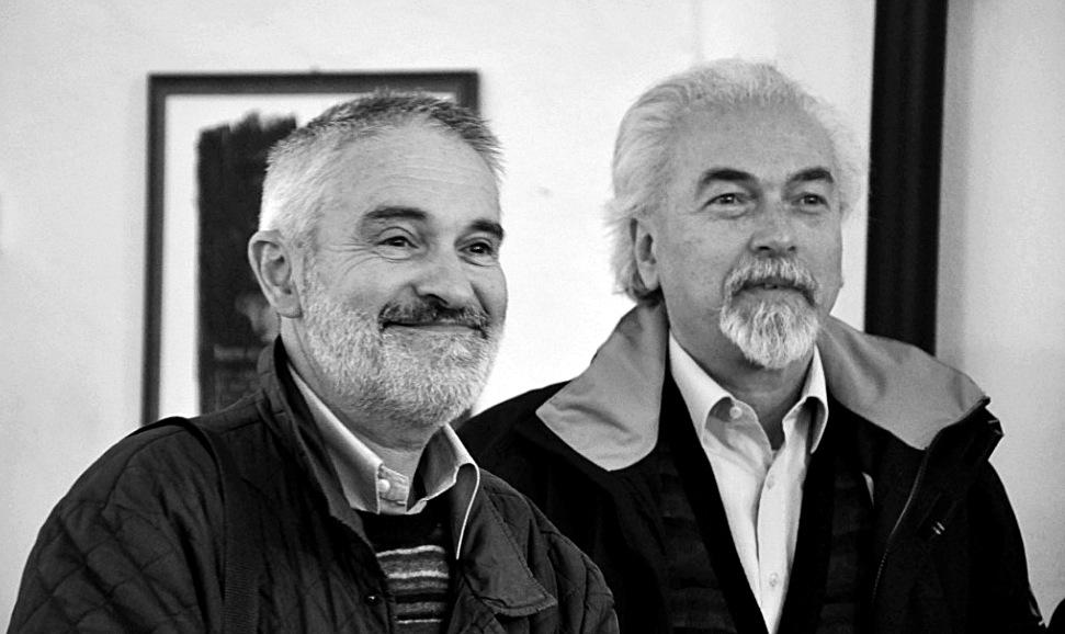 Gianni Bava con Attilio Ianniello alla presentazione di Margutte il 18-5-2013
