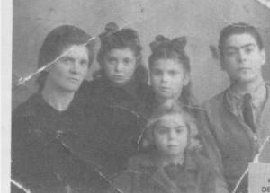 Elisa e i figli italiani