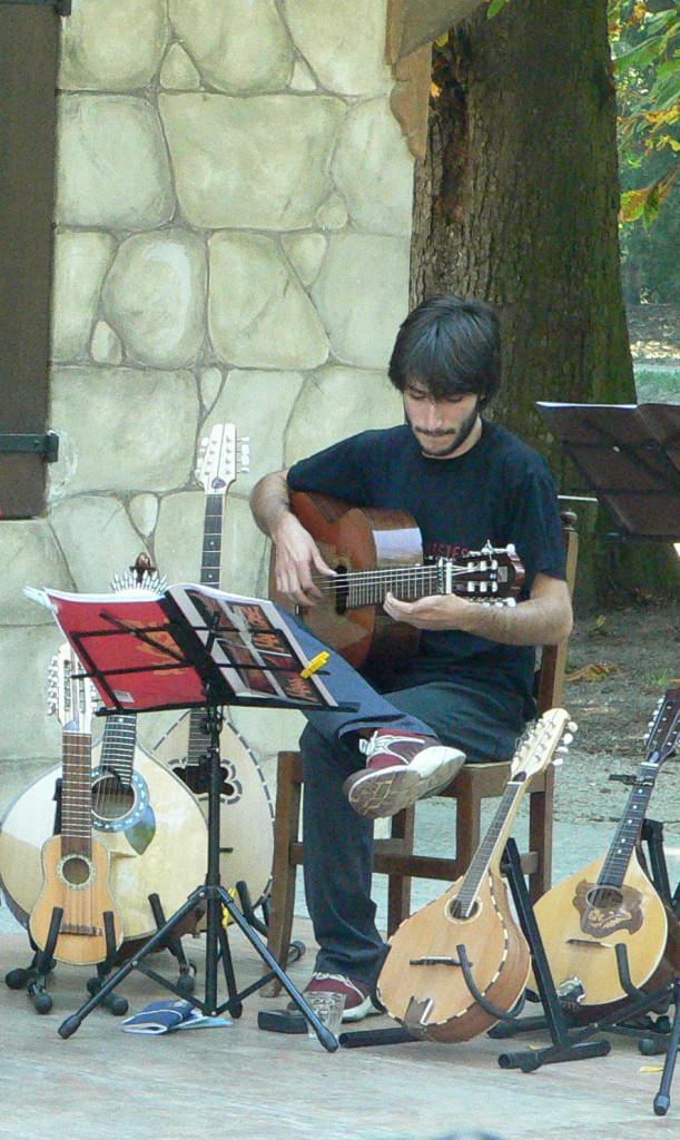 Marco Marenco e i suoi strumenti