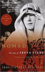 Copertina di Passionate Nomad, biografia di Freya Stark di Jane F. Geniesse