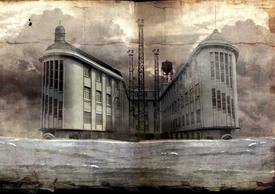 Aurelien Police, L'isola dei morti, edificio di Lemans