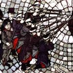 La fucilazione di Ferrer, opera di Flavio Costantini
