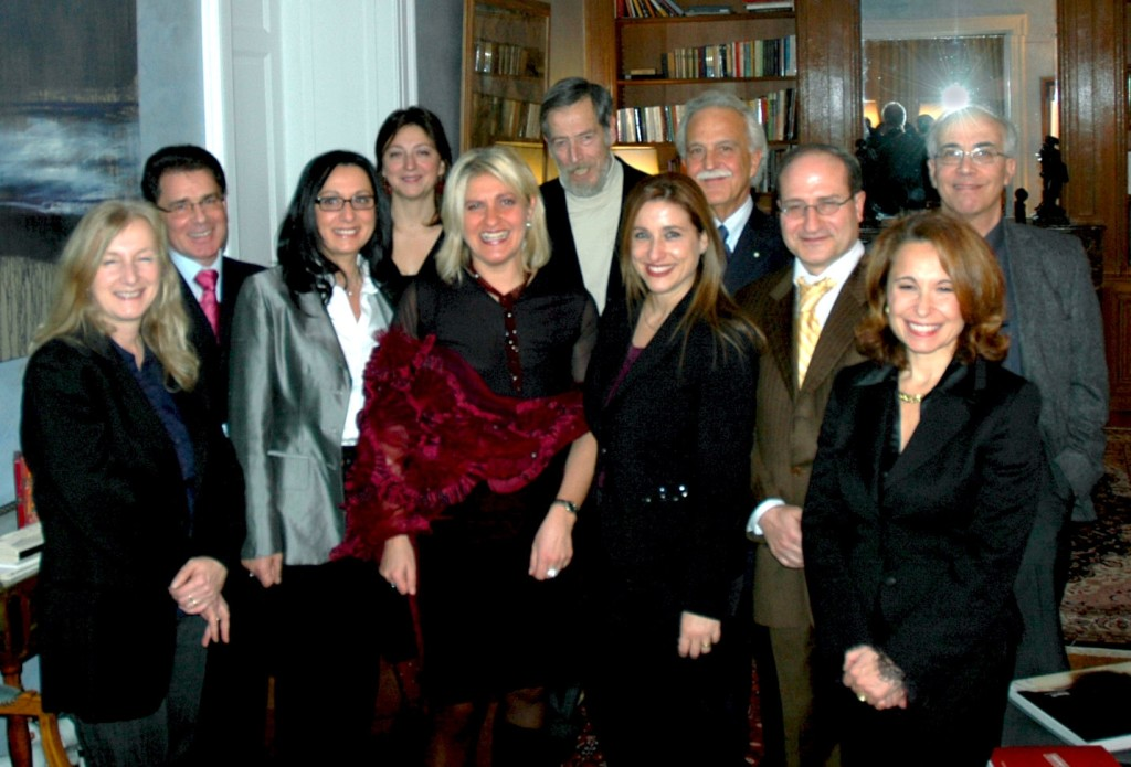 Scrittori italiani in Lussemburgo