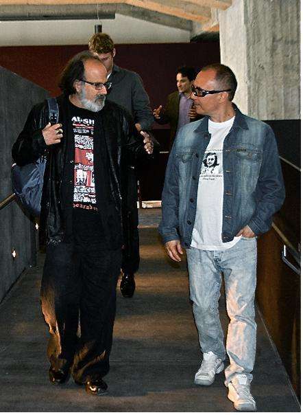 With Michael Rothenberg in Milano (100 Thousand Poets for Change 2014)
