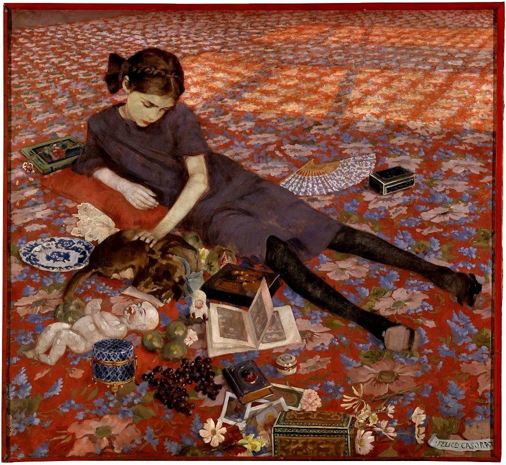 1912 girl red carpet