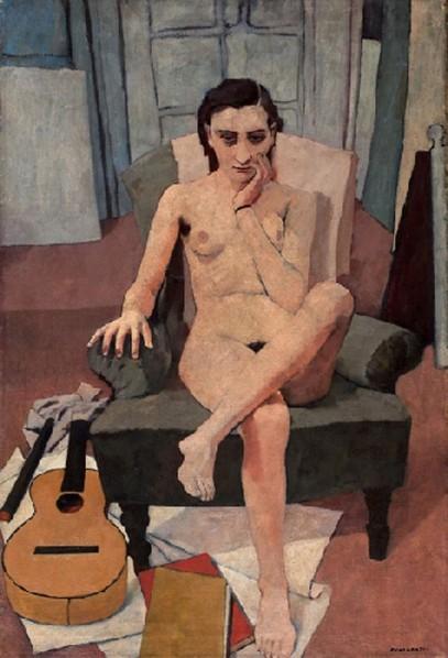 1938 Nudo con chitarra