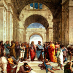 Raffaello-Sanzio-da-Urbino-Scuola-di-Atene-school-of-athens-detail-Philosophy-Introduction-Peter-Crawford