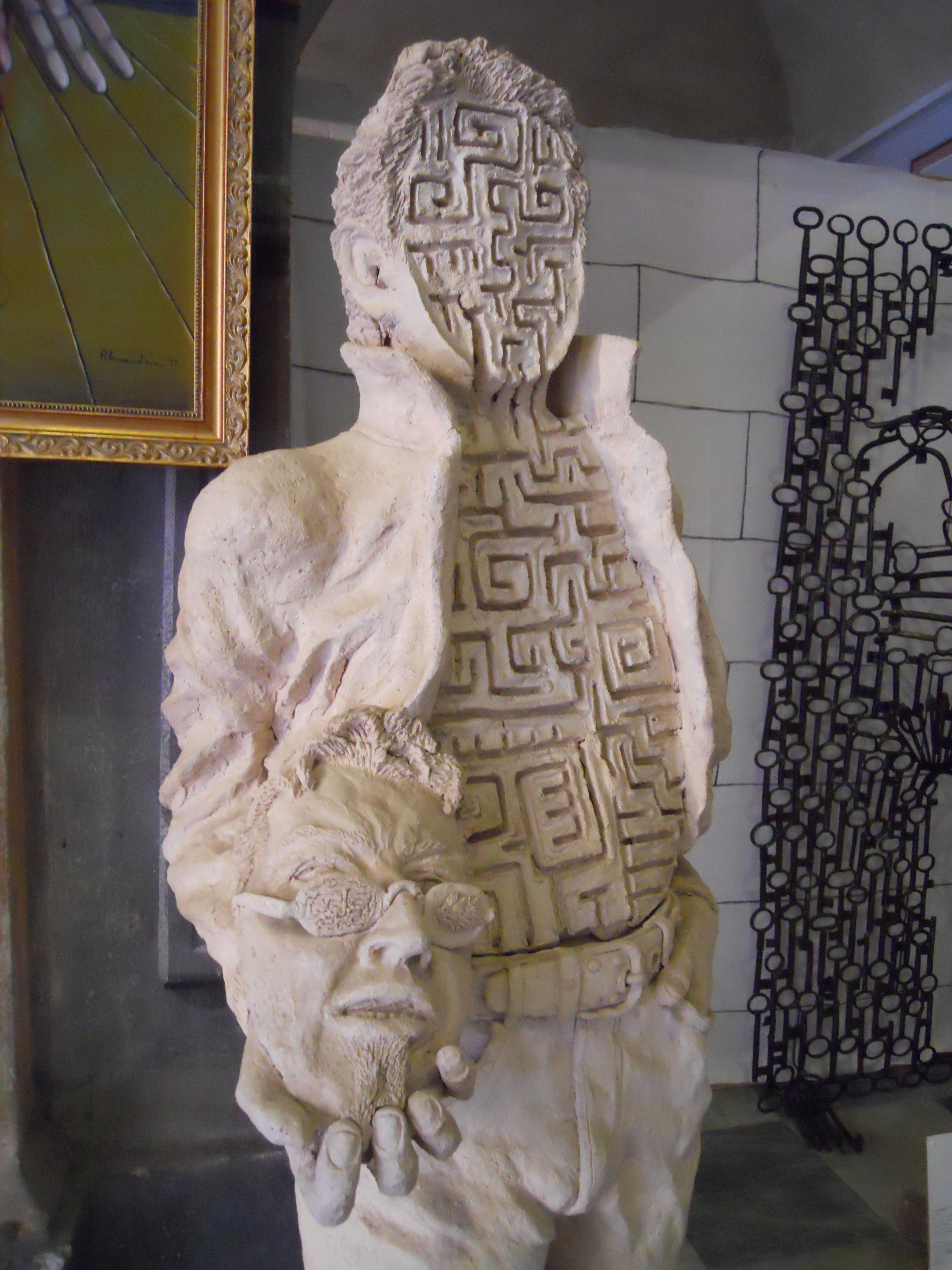 Labirinto interiore 2001 particolare