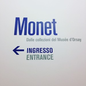 MONET cartello