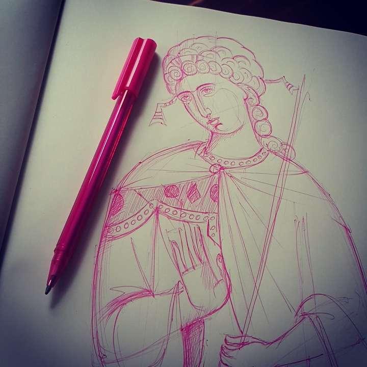 disegno rosa
