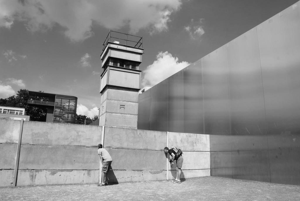 Bernauer Straße. Gedenkstätte Berliner Mauer. 1 agosto 2013. Fotografia Elda Papa