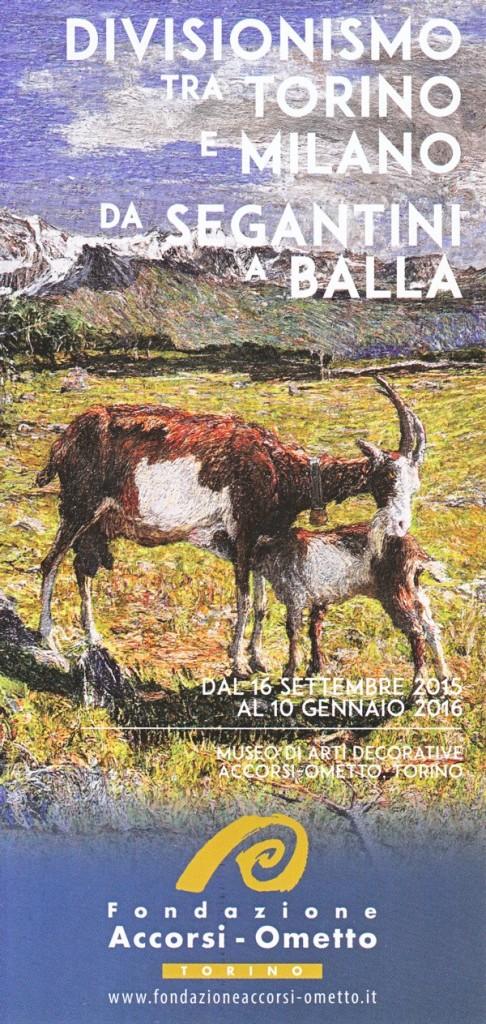 Divisionismo Accorsi 2015 brochure