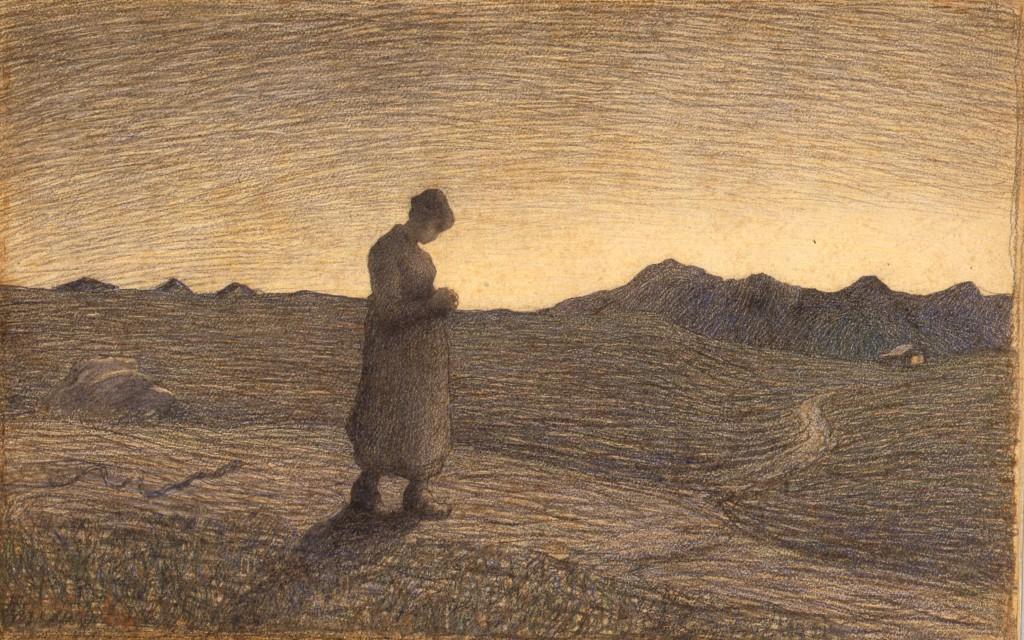 Segantini, Ave Maria sui monti