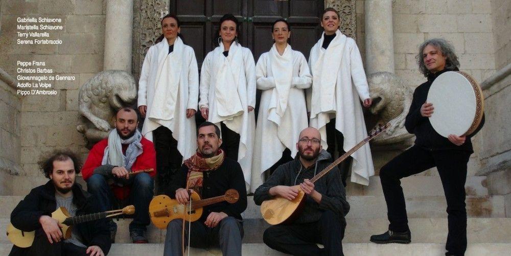 l'Ensemble Calixtinus Faraualla