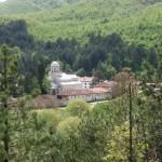 monastero e panorama