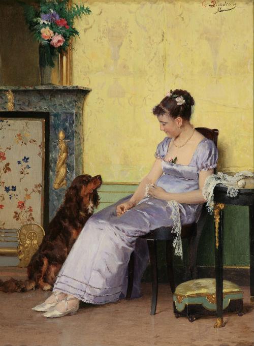 G_B_ Quadrone, Il compagno fedele, 1881, coll_ privata
