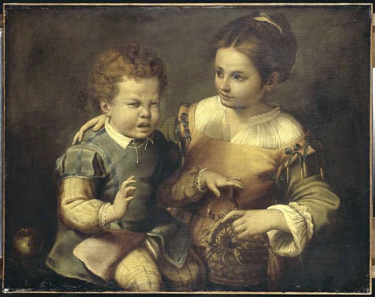 sofonisba-anguissola-ragazzo-morso-dal-granchio-museo_di_capodimonte_napoli
