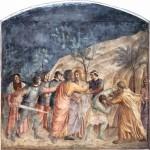 Beato Angelico, Il bacio di Giuda