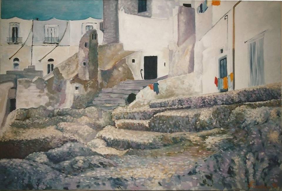 Dipinto a olio di Francesco Granatiero
