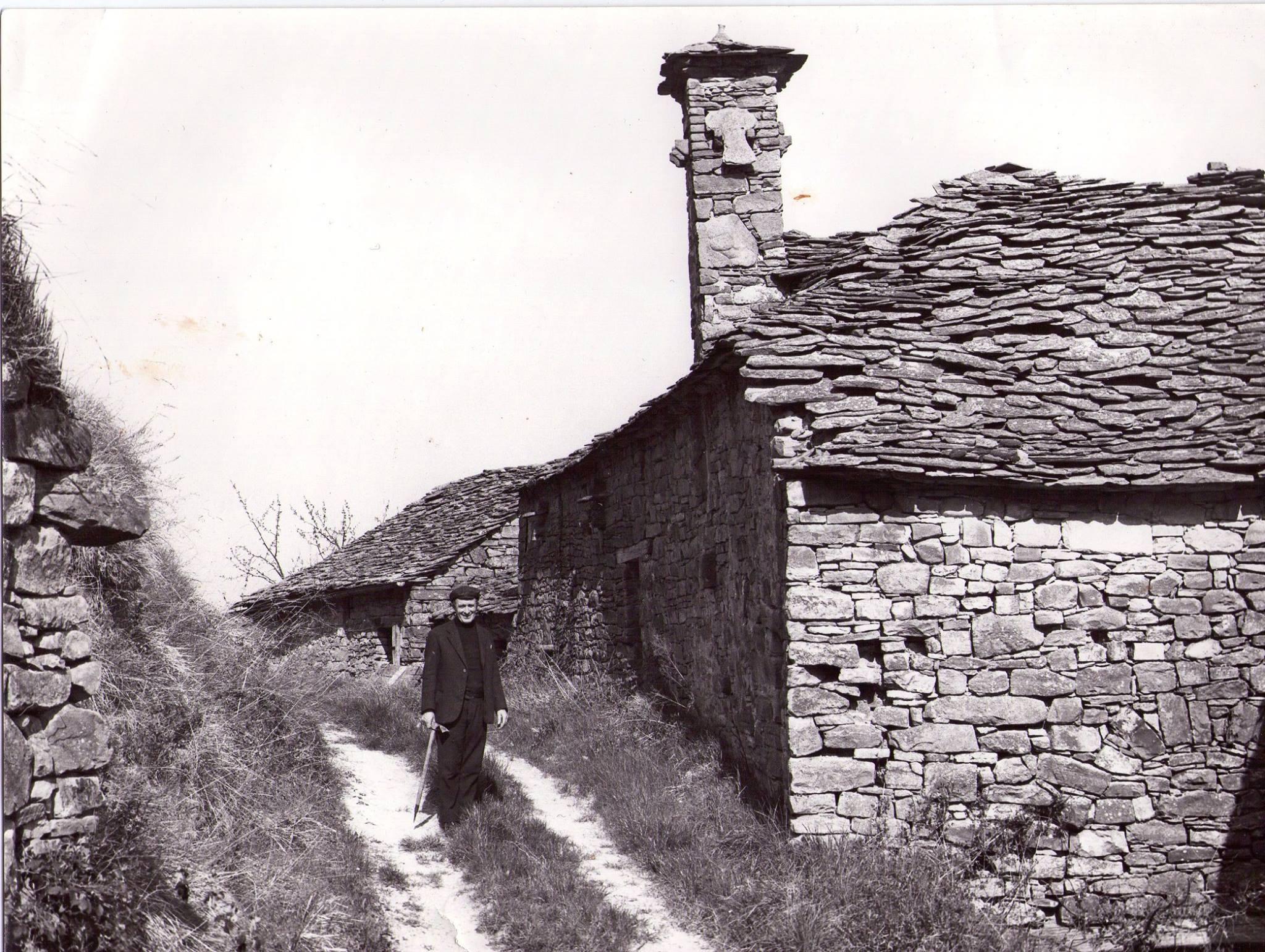 Vecchia foto di Mombarcaro (CN)