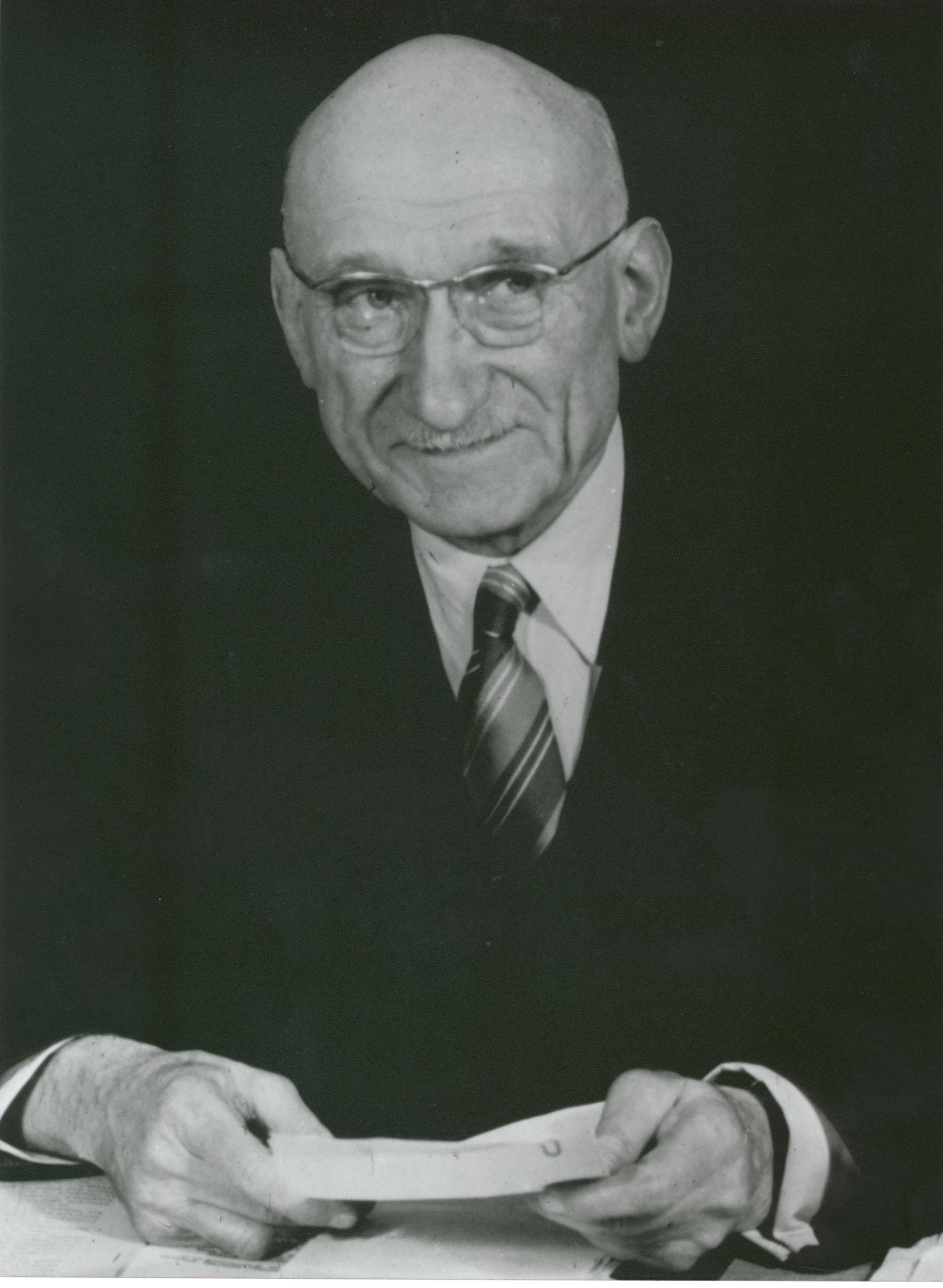 Portrait of Robert Schuman