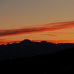 Argentera al tramonto