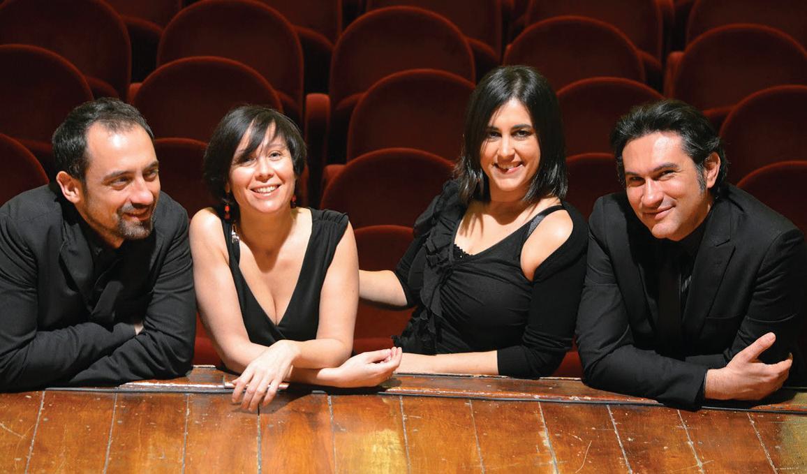 Foto del Modus String Quartet Ena Convertino