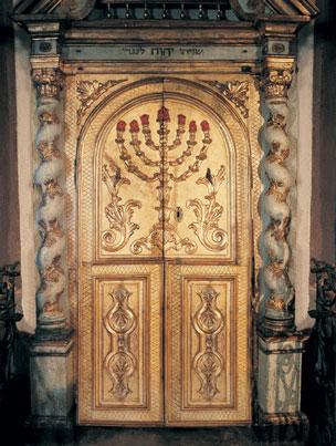 Aron della sinagoga di Mondovì