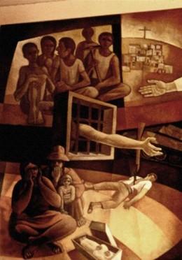 Mino Cerezo Barredo, Le Beatitudini, particolare