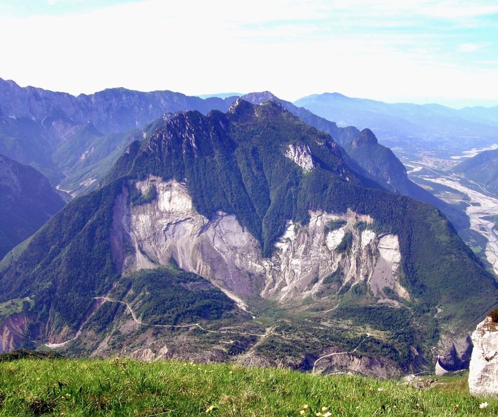 Il monte Toc oggi