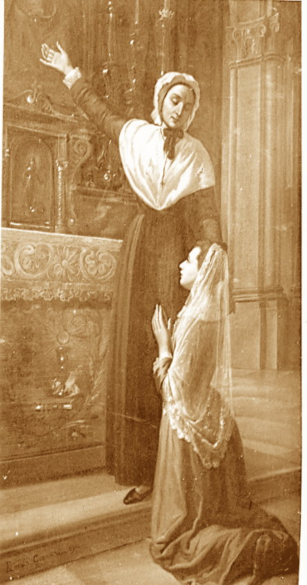 Madre Rosa con la prima Rosina