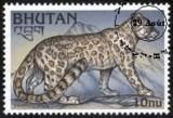 leopardo francobollo