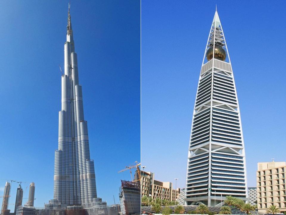 grattacieli Dubai-Riyad