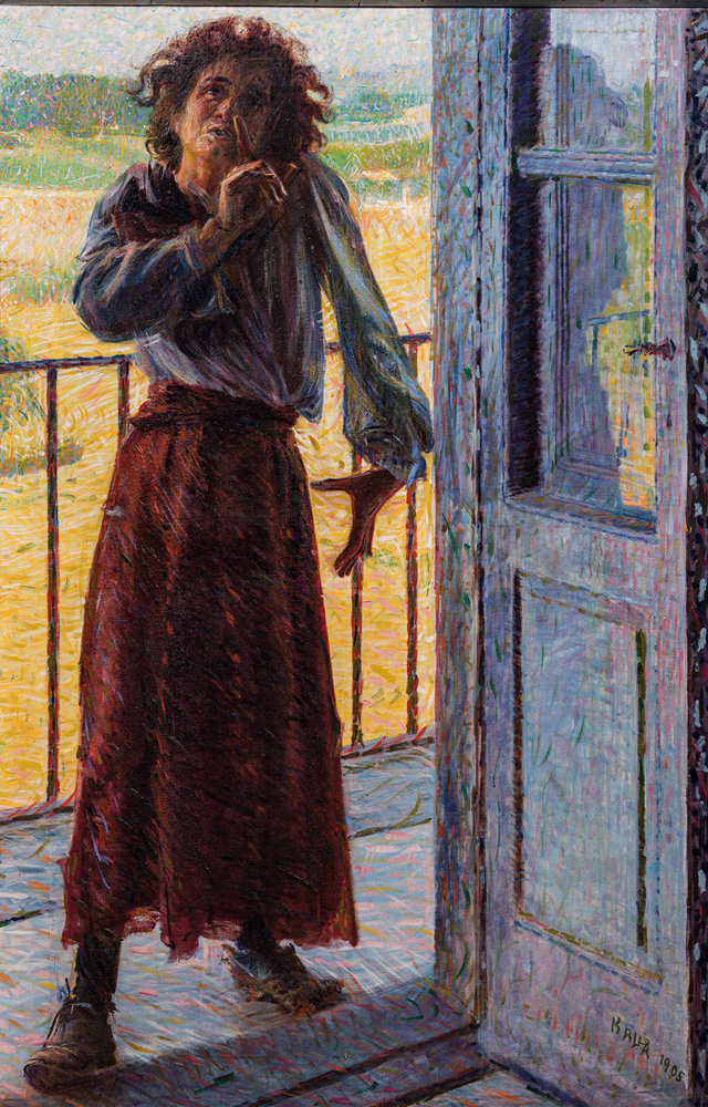 Giacomo-Balla-La-pazza-1905