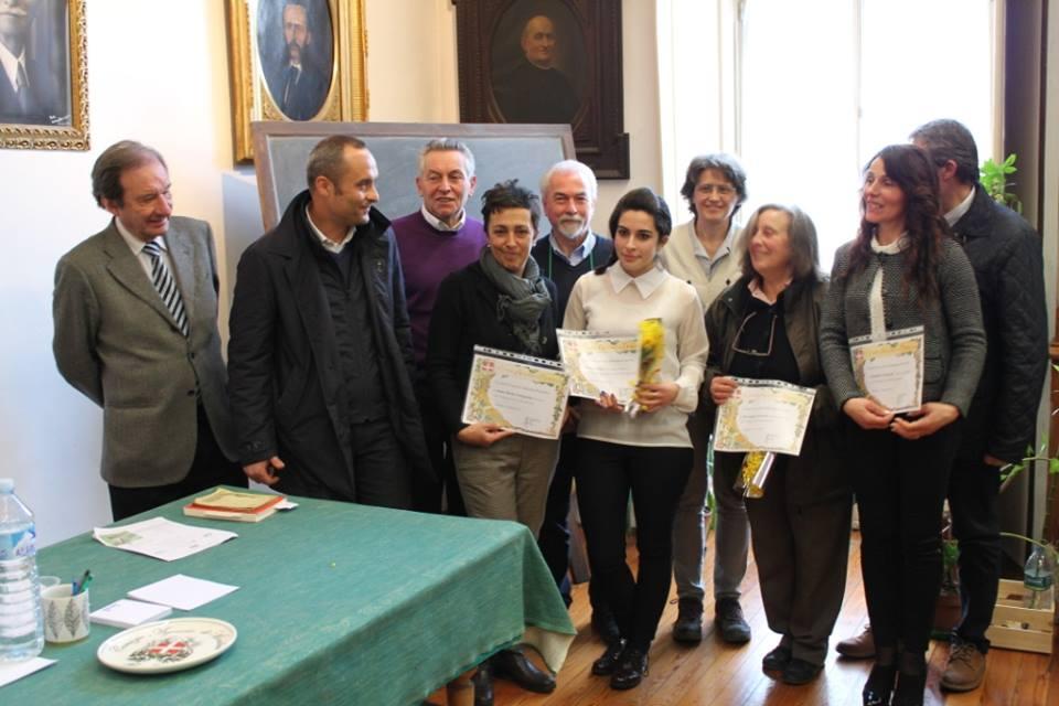 Le donne premiate insieme ai relatori e al Ministro Enrico Costa