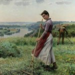 In The Fields Daniel Ridgway Knight