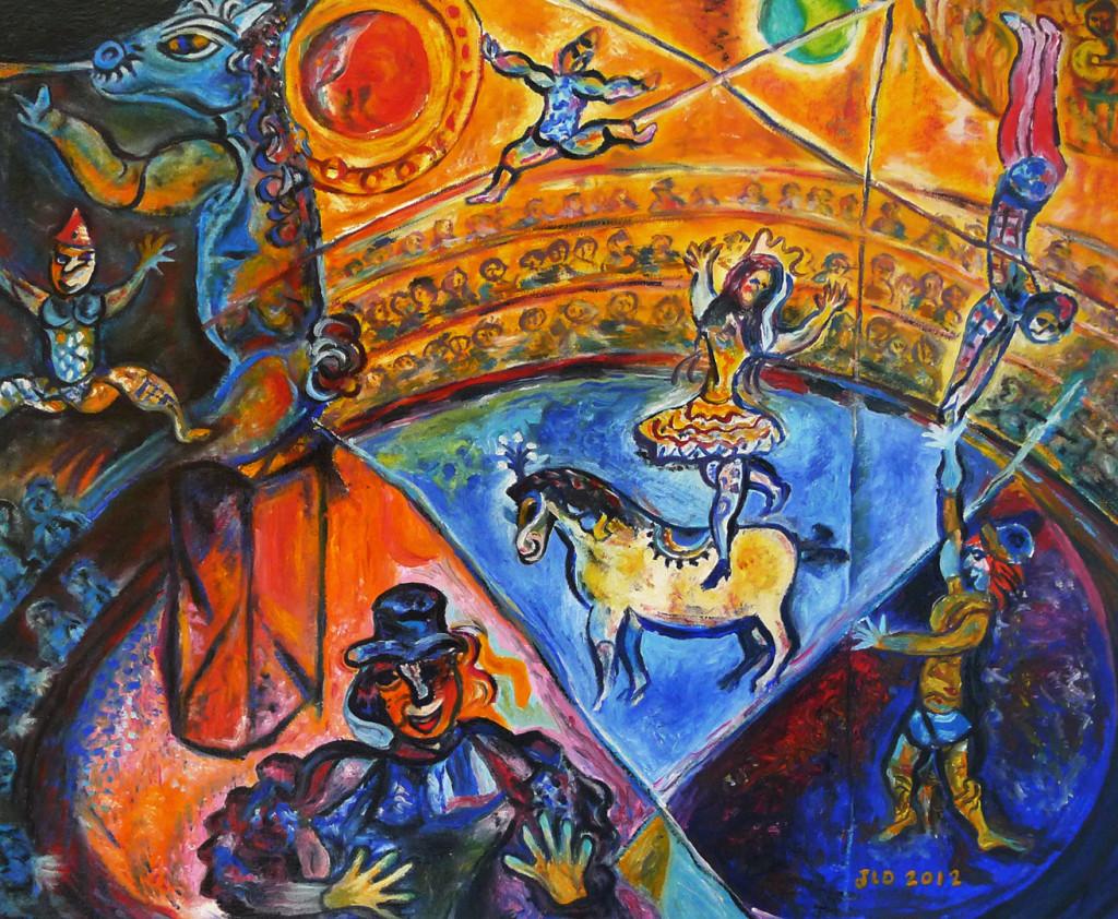 chagall-circo
