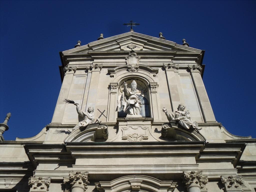 Facciata della cattedrale attuale