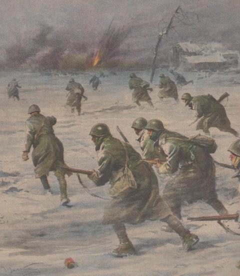 Fonte dell'immagine: httpssegretidellastoria.wordpress.com20141222il-natale-1942-degli-alpini-della-julia-sul-fronte-russo