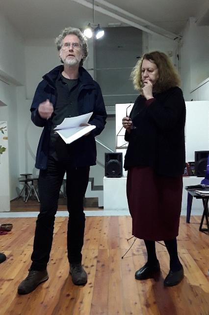 Lyndon Davies e Claudia Azzola