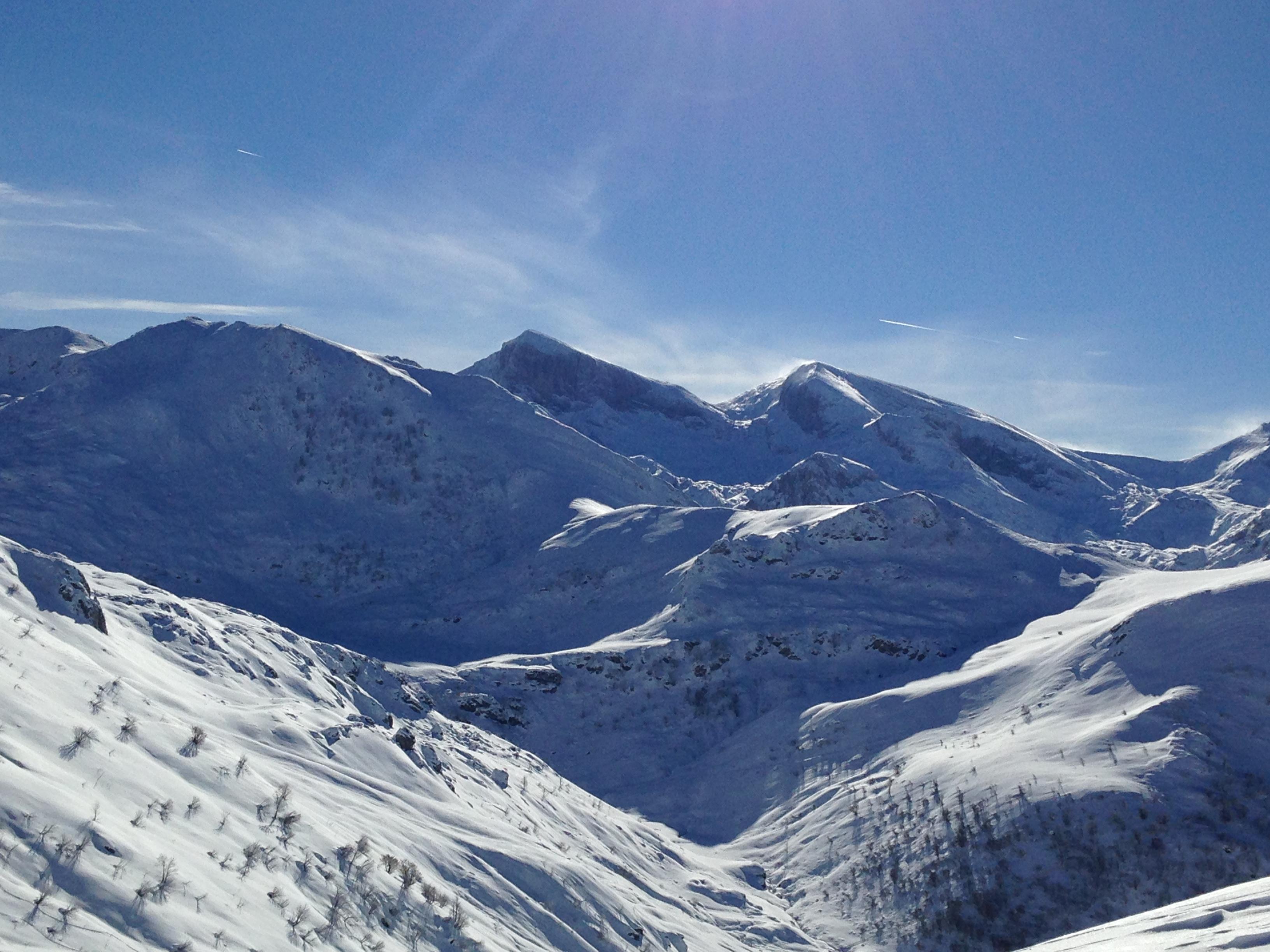 panorama da cima Durand