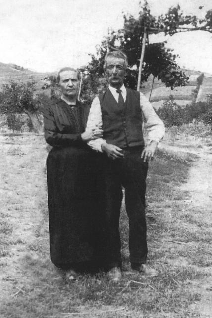 Raimondo Pio e Rosina Colla, genitori di Bartolomeo
