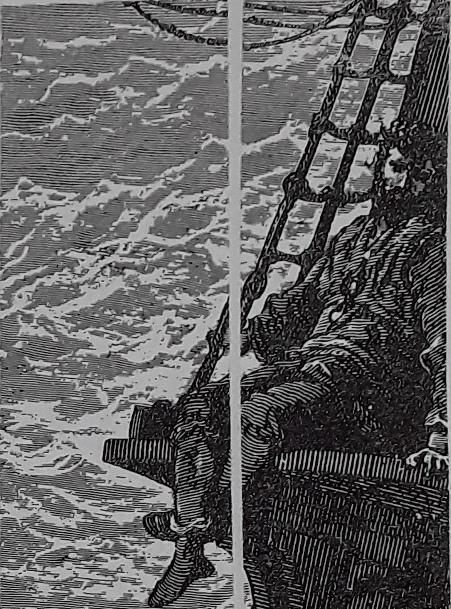 Particolare di una delle incisioni di Gustave Dorè per l'edizione del 1876 di La ballata del vecchio marinaio di Coleridge