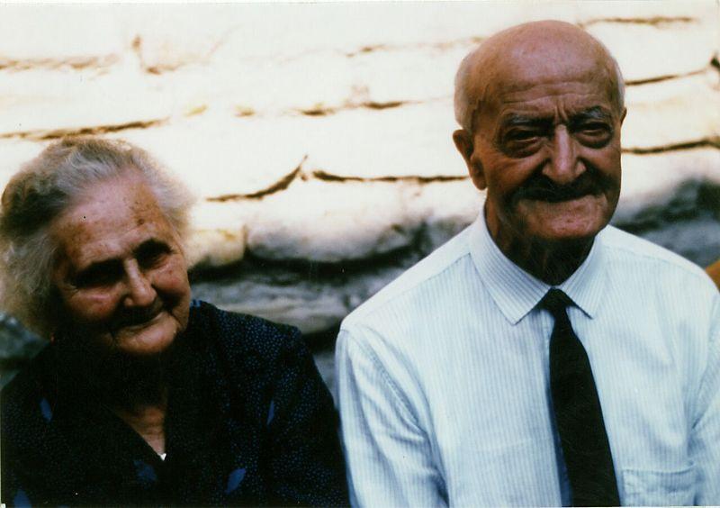Vigina e Berto negli anni '80