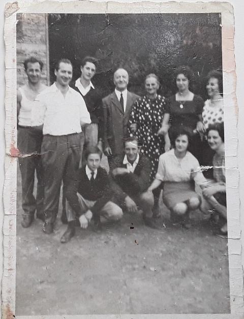 La famiglia Pio a metà anni Sessanta