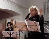 """Mystis e Aima nella performance """"Il suono delle parole e delle lingue"""", 13 gennaio 2018, Spazio Tadini Milano (foto: Silvia Pio)"""